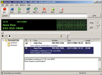 دانلود نرم افزار ضبط مکالمات تلفنی Call Corder 4.0.0.300