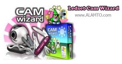 تبدیل وب کم به دوربین مدار بسته با Ledset Cam Wizard v10.14 Portable