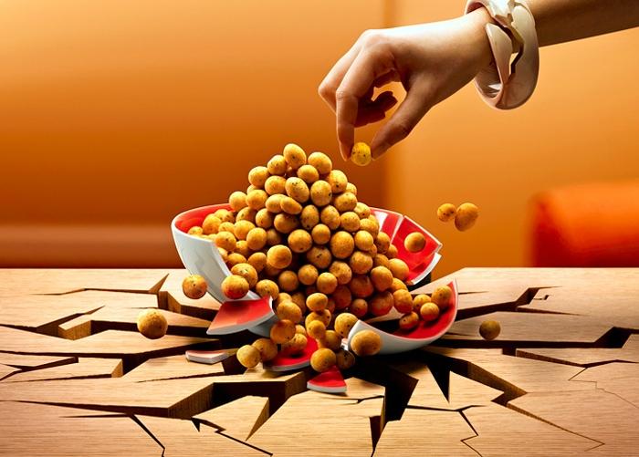 خلاقانه و دیدنی از مواد غذاییعکاسی خلاقانه و دیدنی از مواد غذایی