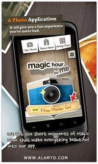 افکت گذاری حرفه ای عکس در گوشی های آندروید Magic Hour – Camera v1.1.6