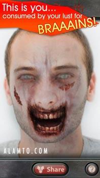 تبدیل شدن به یک زامبی با ZombieBooth v3.05 - آندروید