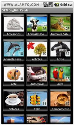 آموزش زبان انگلیسی برای آندروید SPB Flash Cards