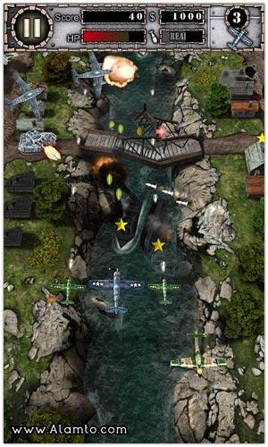 بازی هواپیمایی آندروید AirAttack HD