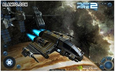 عکس محیط بازی Galaxy on Fire 2 THD v1.0.4.5 - آندروید