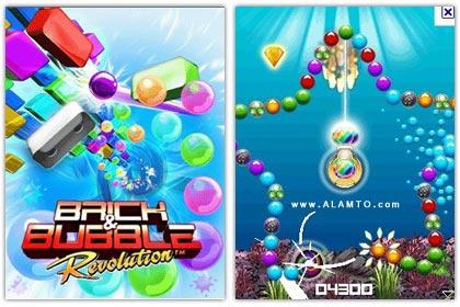 بازی سرگرم کننده Brick and Bubble Revolution - جاوا