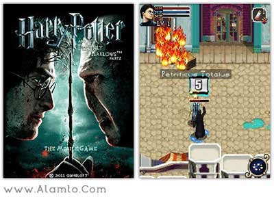 بازی جدید Harry Potter And The Deathly Hallows - Part 2 - موبایل