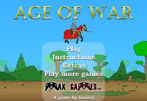 بازی جنگی آنلاین Age of War