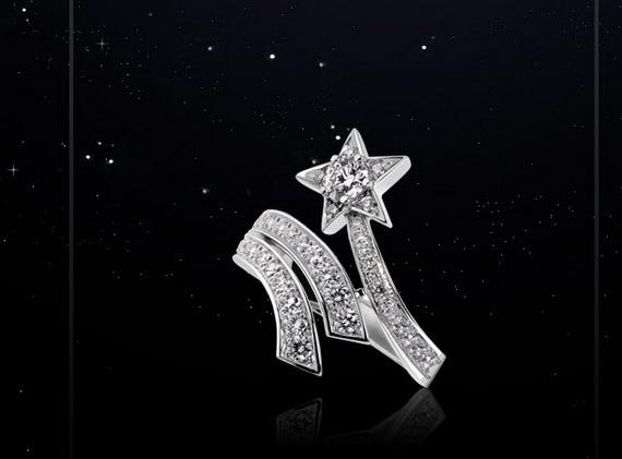 مدل انگشتر های الماس زنانه مارک Chanel
