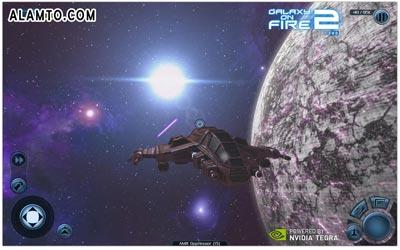 بازی فوق العاده زیبای Galaxy on Fire 2 THD v1.0.4.5 - آندروید