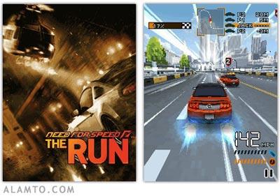 بازی جدید موبایل Need For Speed The Run 3D - جاوا