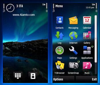 تم موبایل نوکیا s60v5 شامل 5800,n97,x6,5230,5235,5530