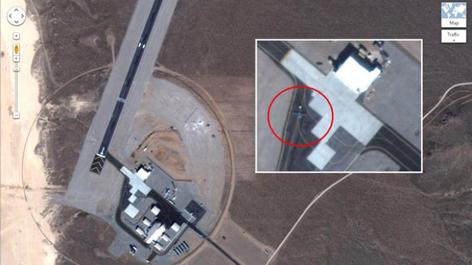 باند پرواز پهپادهاي جاسوسي آمريكا RQ-170 شناسایی شد
